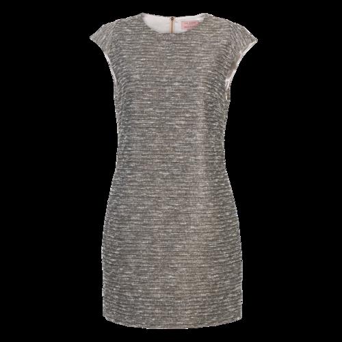 Ted Baker Metallic Tweed Shift Dress