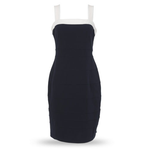 Tommy Hilfiger Sleeveless Navy Blue Dress