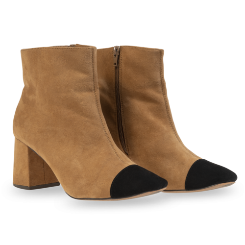Sfera Two-Toned Booties