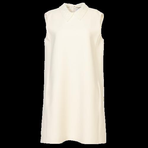 Dior Christian Dior Cream Dress