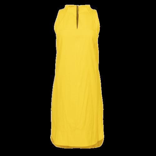 Pamella Roland Yellow Silk Cocktail Dress