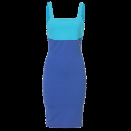 Versace Versus Versace Two-Tone Colorblock Dress