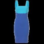 Versus Versace Two-Tone Colorblock Dress