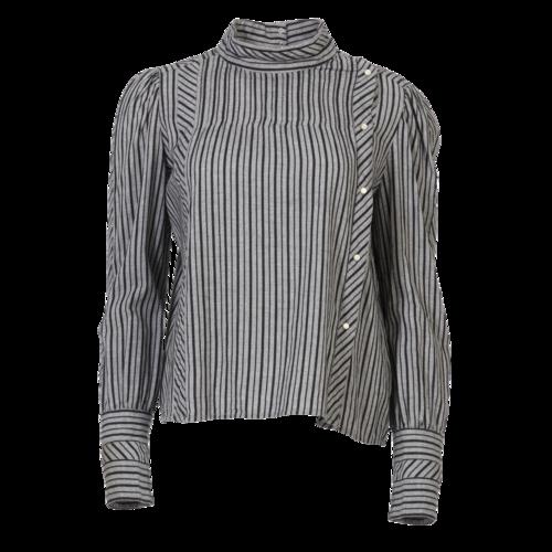 Isabel Marant Etoile Isabel Marant Striped Long Sleeve Shirt