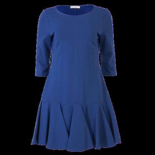 Halston Heritage Peplum Dress