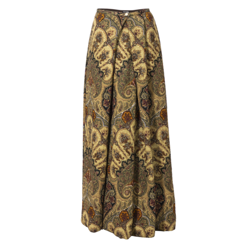 Giorgio Armani Vintage Giorgio Armani Paisley Print Maxi Skirt