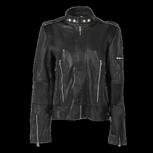 Custom Made Custom-Made Daft Punk Leather Jacket