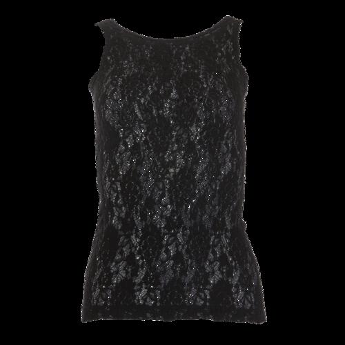 Prada Black Lace Tank