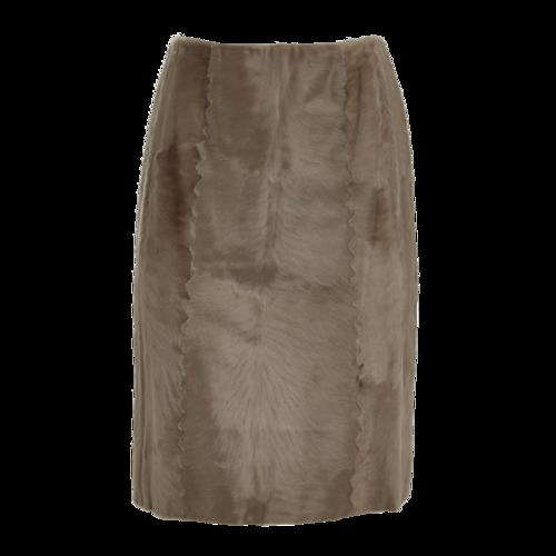 Vintage Fur Skirt