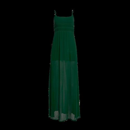 Reformation Green Sheer Dress