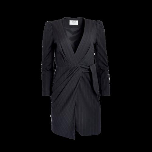 ba&sh Pinstripe Wrap Dress