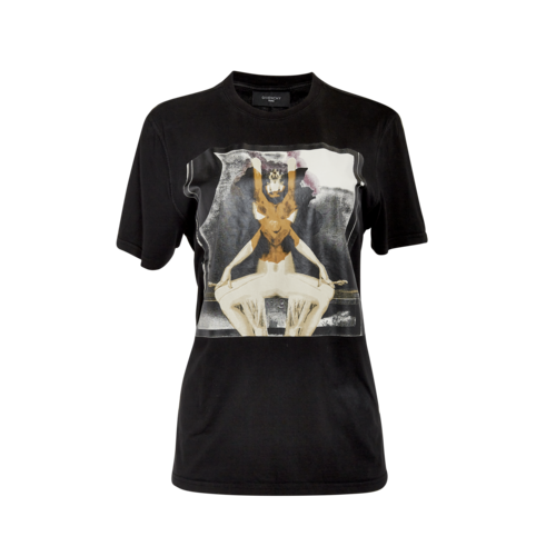 Givenchy Black Graphic Tee