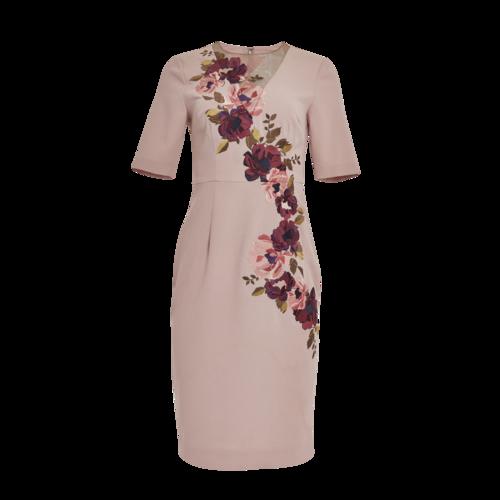 Trina Turk Pink Floral Dress