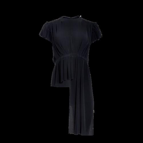 Balenciaga Black Asymmetric Top