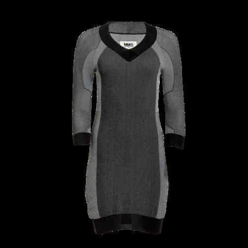 Maison Margiela Maison Martin Margiela Grey Knit Sweater Dress