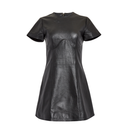 House of Harlow 1960 House of Harlow Leather Dress