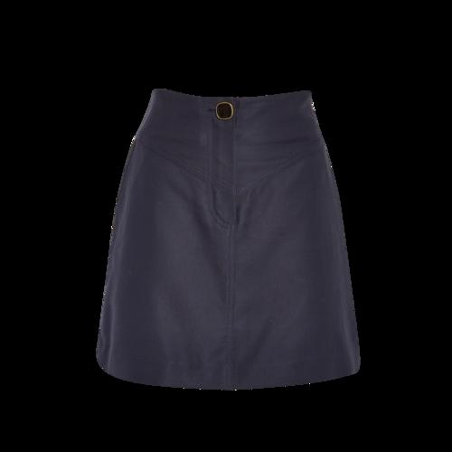 Sandro Paris Sandro Navy Blue Mini Skirt
