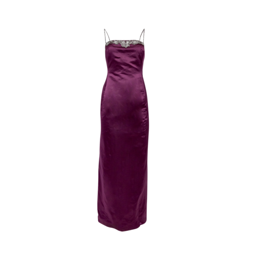 Vera Wang Purple Gown with Shawl