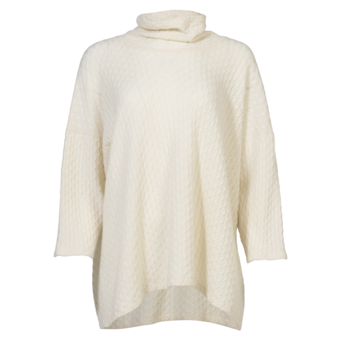 Hania New York HANIA by Anya Cole Cream Cashmere Knitted Sweater