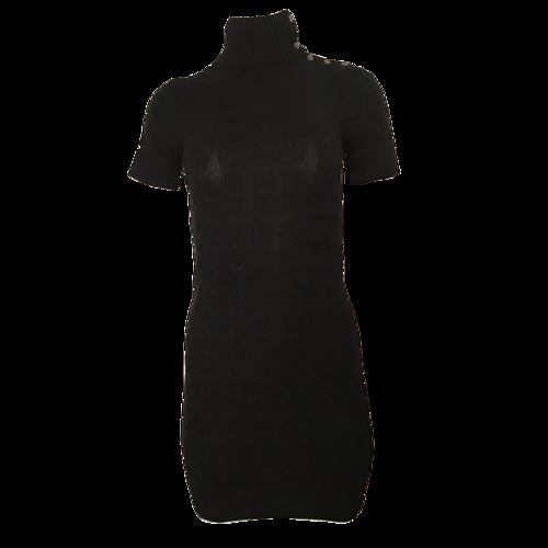 Ralph Lauren Cotton-Blend Sweater Dress