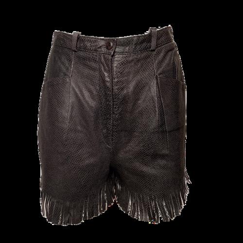 VAKKO Snake Skin Shorts