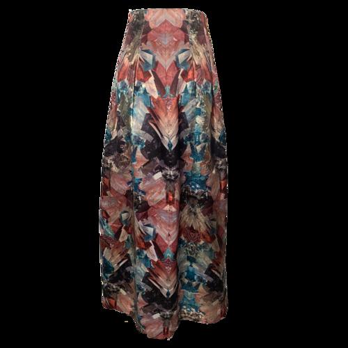 Ted Baker Printed Maxi Skirt