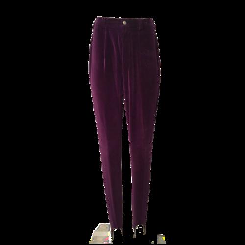 Bogner High Waisted Velvet Apres Ski Pants