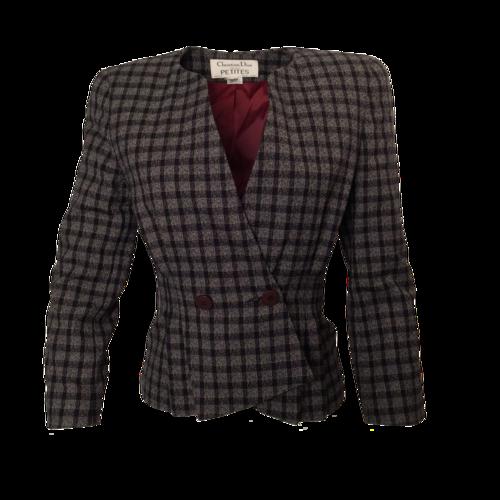 Dior Wool Patterned Blazer