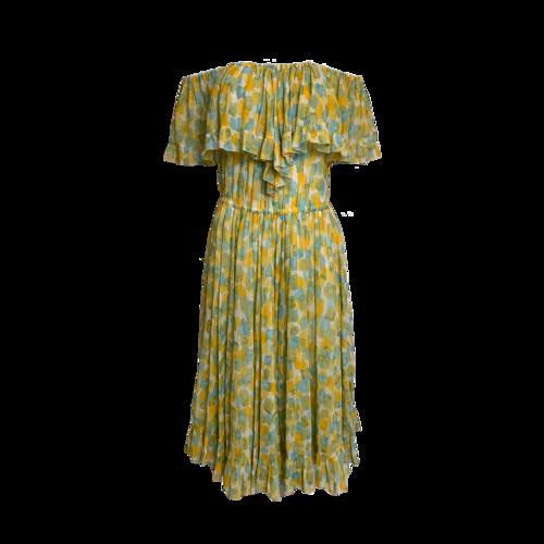 Dior Abstract Print Dress