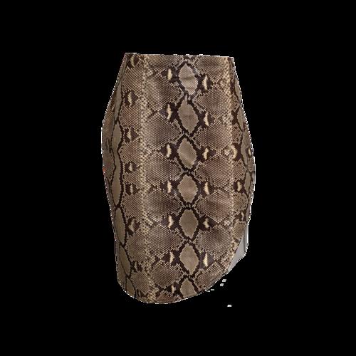 Altuzarra Python Skirt