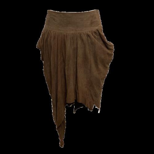 Altuzarra Brown Suede Skirt