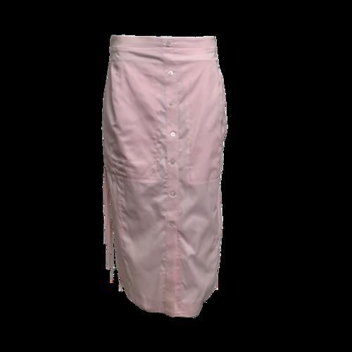Altuzarra Pink Button Front Skirt