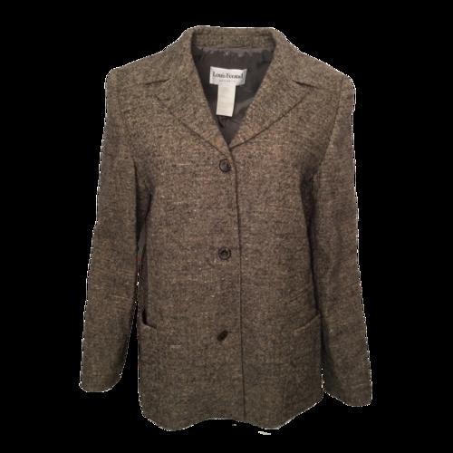 Louis Feraud Grey Wool Jacket