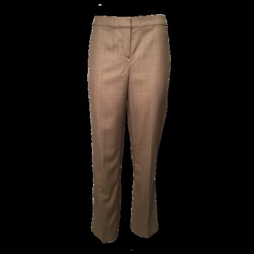 St. John Brown Tailored Pants