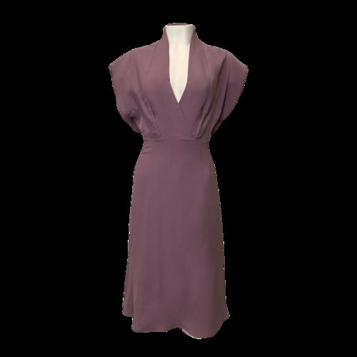 Derek Lam Deep V-Neck Lavender Dress