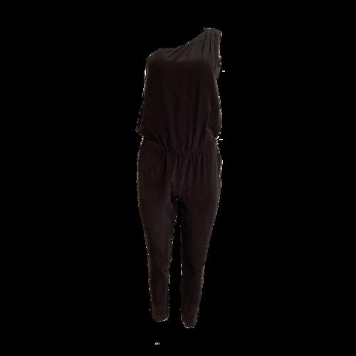 Joie Black One Shoulder Jumpsuit