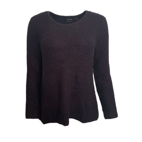 Isabel Marant Black Angora Blend Knit Sweater