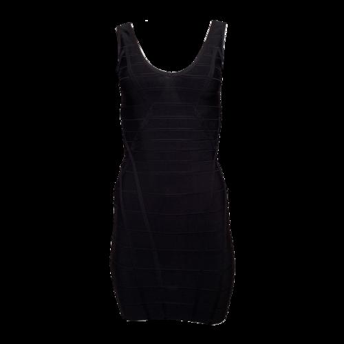 Herve Leger Black Bandage Dress