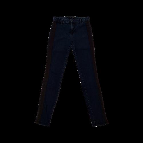 "J Brand ""Devin"" Jeans w/ Satin Side Stripe"