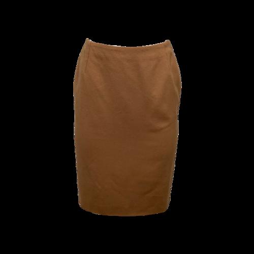 Versace Beige Wool Skirt