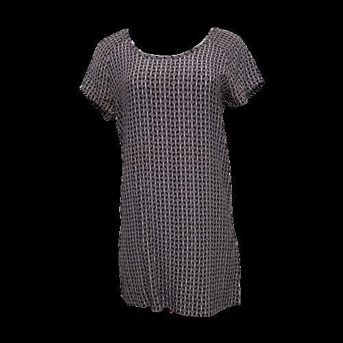 Joie Geometric Print Silk Dress