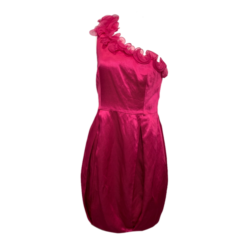 3.1 Phillip Lim Fuschia One-Shoulder Dress
