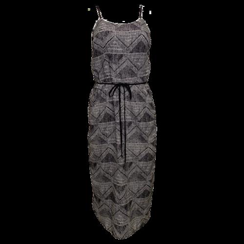 Barneys Black and White Printed Dress