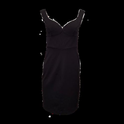Black Halo Black Body-Con Dress