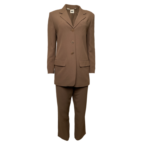 DKNY Two-PIece Brown Suit Set