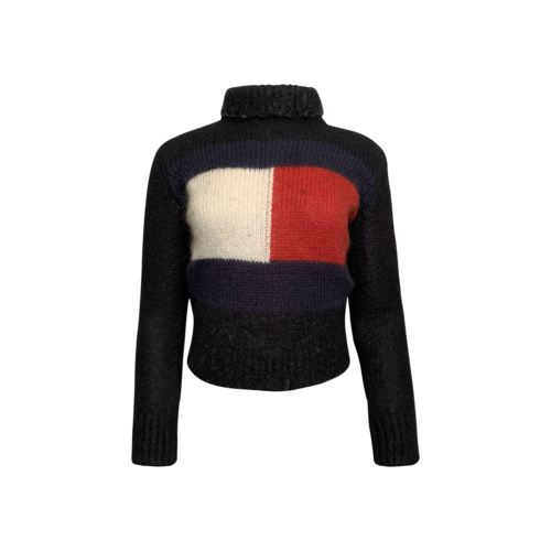 Tommy Hilfiger Cropped Logo Sweater