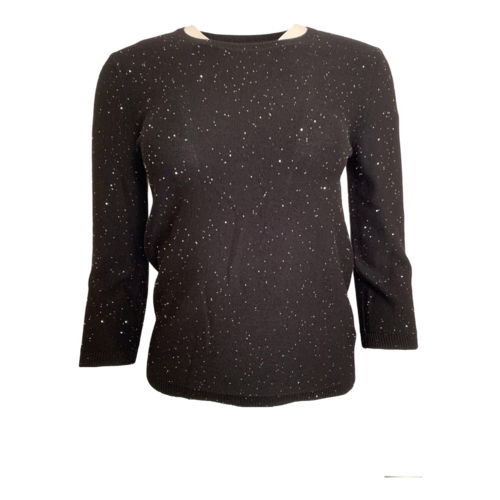 St. John Black Sweater