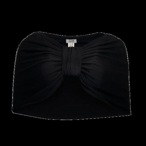 Moschino Black Bow Shrug