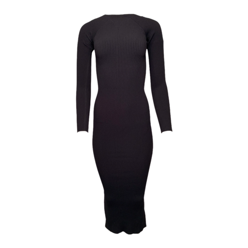 Alexander Wang Long Sleeve Zipper Neck Sweater Dress