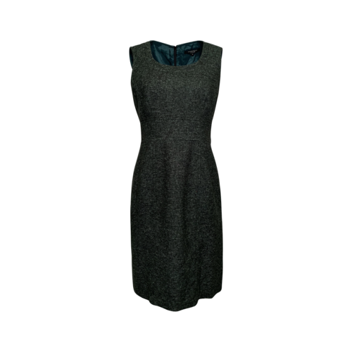 Nanette Lepore Green Tweed Sheath Dress